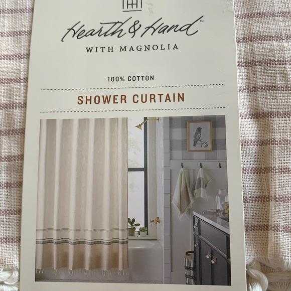 Hearth & Hand shower curtain